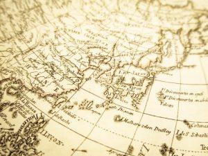 日本海古地図
